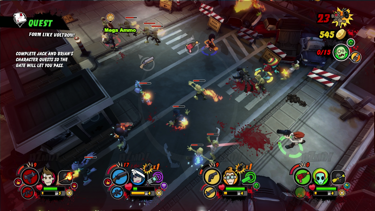 VG-Reloaded Review: All Zombies Must Die (XBLA) | Video Games Reloaded