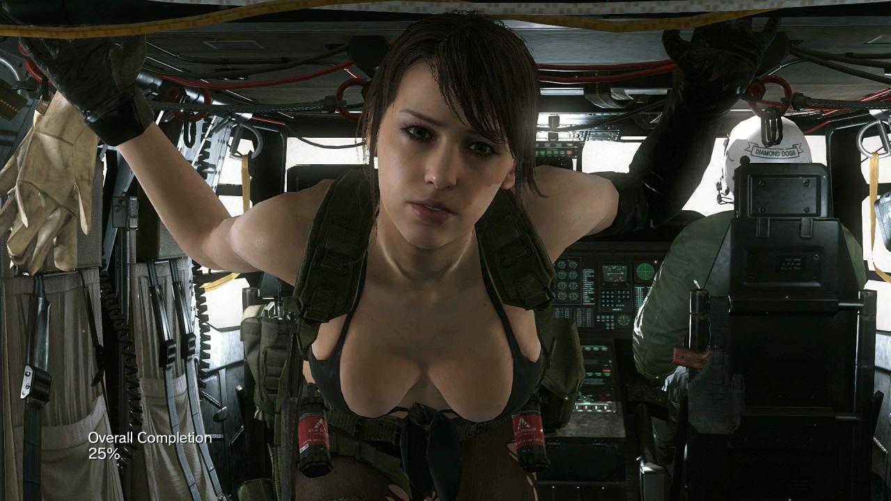 Exclusive Metal Gear Solid V Interview Stefanie Joosten Quiet