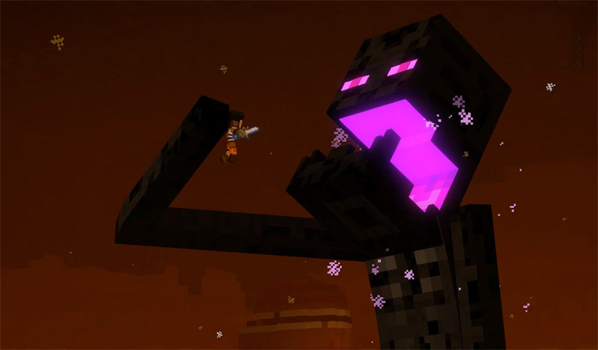 Ps4 Review Minecraft Story Mode Season Two Episode 4 Below The