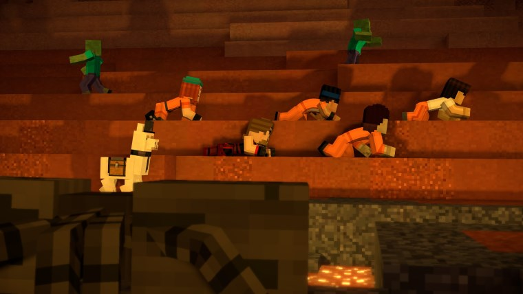 PS4 Review: Minecraft Story Mode Season Two: Episode 4 – Below the